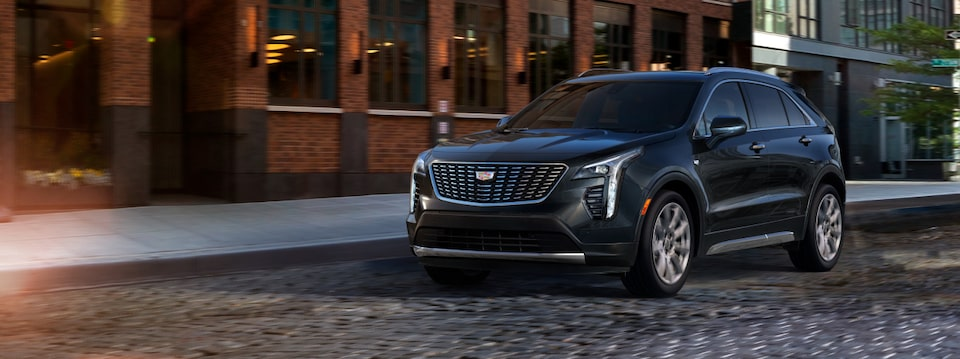 Cadillac XT4 Front View